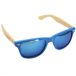 WOED wooden sunglasses blues