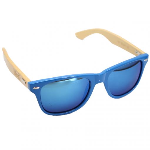 WOED houten zonnebril Blues