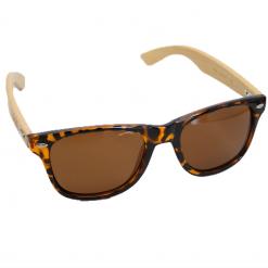 WOED houten zonnebril Cheetah