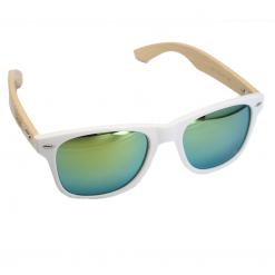 WOED houten zonnebril IceGreen